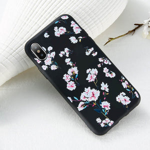 3D Relief Flower Phone Case For iPhone-Online Best Deals-Style 3-For iPhone 5 5s SE-Online Best Deals