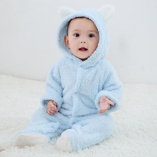 Baby jumpsuit-Online Best Deals-Sky Blue-9M-China-Online Best Deals