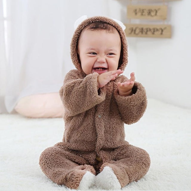 Baby jumpsuit-Online Best Deals-Khaki-9M-China-Online Best Deals