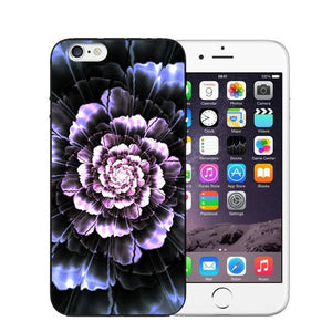 Vintage Flower Soft Silicone Phone Case For iPhone-Online Best Deals-T0458-For iPhone X-Online Best Deals