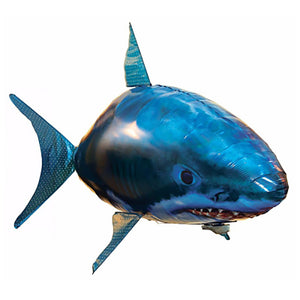 Funny Remote Controlled Flying Shark-Online Best Deals-Blue-Online Best Deals
