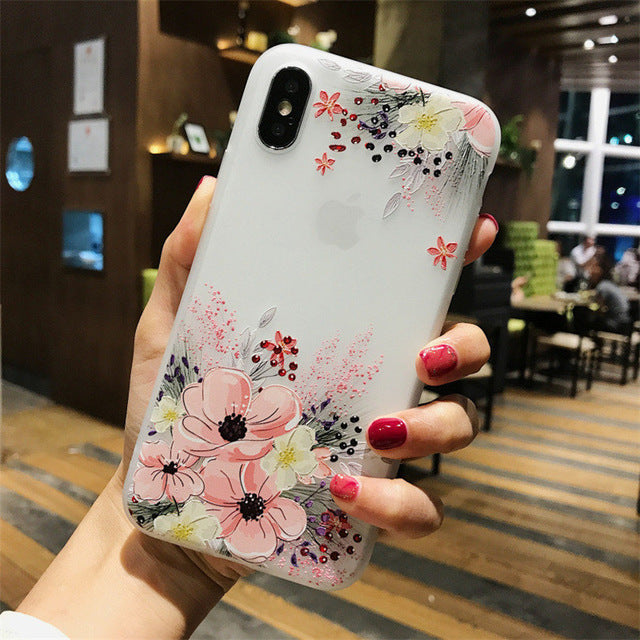 Lotus Flower Case For iPhone-phone case-Online Best Deals-SJ7586-For iPhone X-Online Best Deals