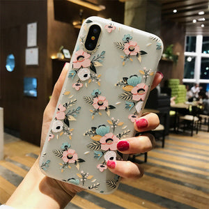 Lotus Flower Case For iPhone-phone case-Online Best Deals-SJ7587-For iPhone X-Online Best Deals