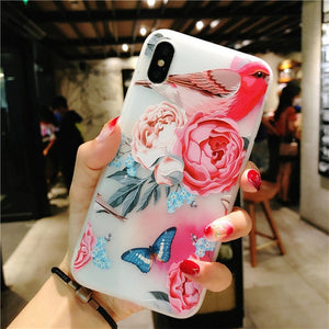 Lotus Flower Case For iPhone-phone case-Online Best Deals-SJ8452-For iPhone X-Online Best Deals
