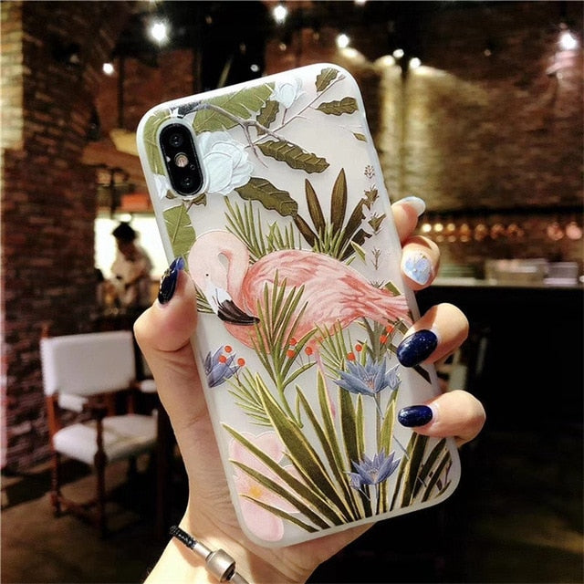 Lotus Flower Case For iPhone-phone case-Online Best Deals-AC0095-For iPhone X-Online Best Deals