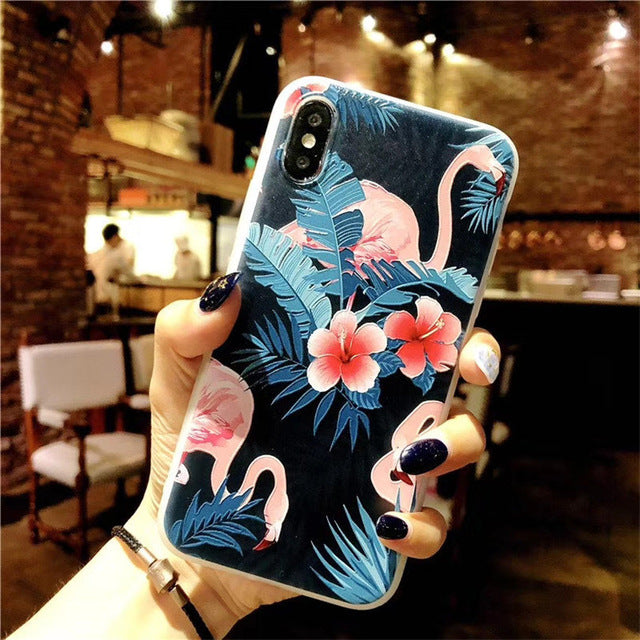Lotus Flower Case For iPhone-phone case-Online Best Deals-AC0096-For iPhone X-Online Best Deals