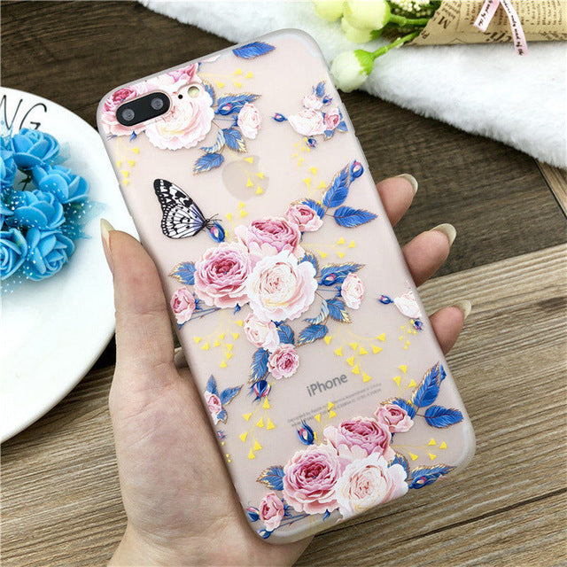 Lotus Flower Case For iPhone-phone case-Online Best Deals-SJ7582-For iPhone X-Online Best Deals
