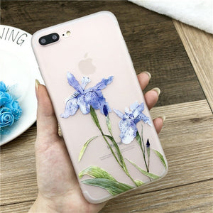 Lotus Flower Case For iPhone-phone case-Online Best Deals-SJ7530-For iPhone X-Online Best Deals