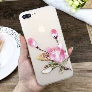 Lotus Flower Case For iPhone-phone case-Online Best Deals-SJ7532-For iPhone X-Online Best Deals