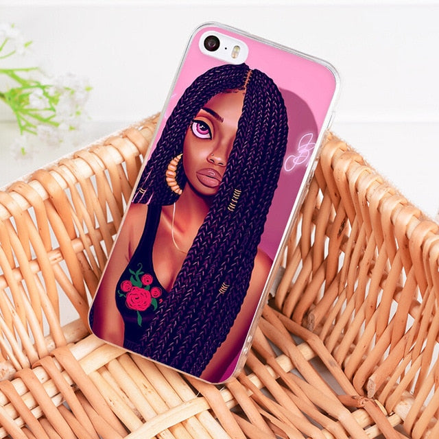 Cute Girl Phone Case for iPhone-Online Best Deals-A13-For iPhone 7Plus-Online Best Deals