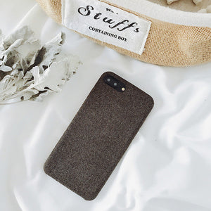 Cloth Texture Soft TPU Phone Case For iphone-Online Best Deals-IK51-FBZong-For iphone 7-Online Best Deals