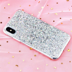 Luxury Bling Glitter Crystal Phone Case-phone case-Online Best Deals-Silver-For iPhone 5 5S SE-Online Best Deals