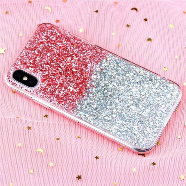Luxury Bling Glitter Crystal Phone Case-phone case-Online Best Deals-Gradient Pink-i6-i6S(4.7inch)-Online Best Deals