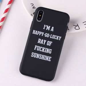 Social Media Quotes Funny Phone Case For iPhone 6S 5 5S SE 8 8Plus X 7 7Plus XS Max-Online Best Deals-9-For iPhone 6Plus-Online Best Deals
