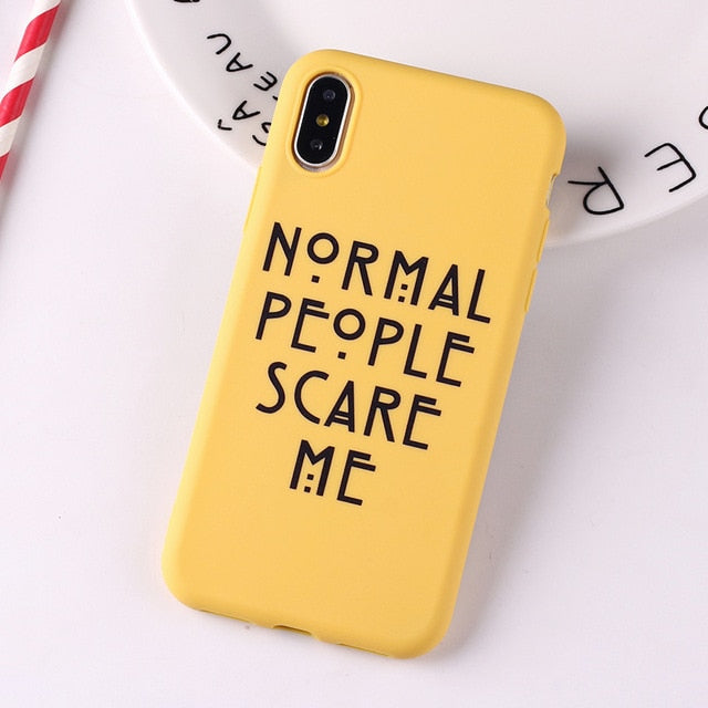 Social Media Quotes Funny Phone Case For iPhone 6S 5 5S SE 8 8Plus X 7 7Plus XS Max-Online Best Deals-12-For iPhone 6Plus-Online Best Deals