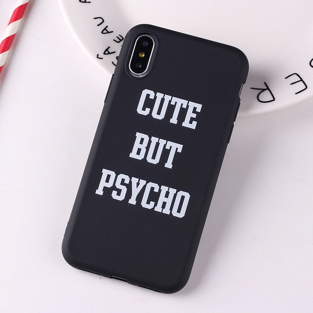 Social Media Quotes Funny Phone Case For iPhone 6S 5 5S SE 8 8Plus X 7 7Plus XS Max-Online Best Deals-13-For iPhone 6Plus-Online Best Deals