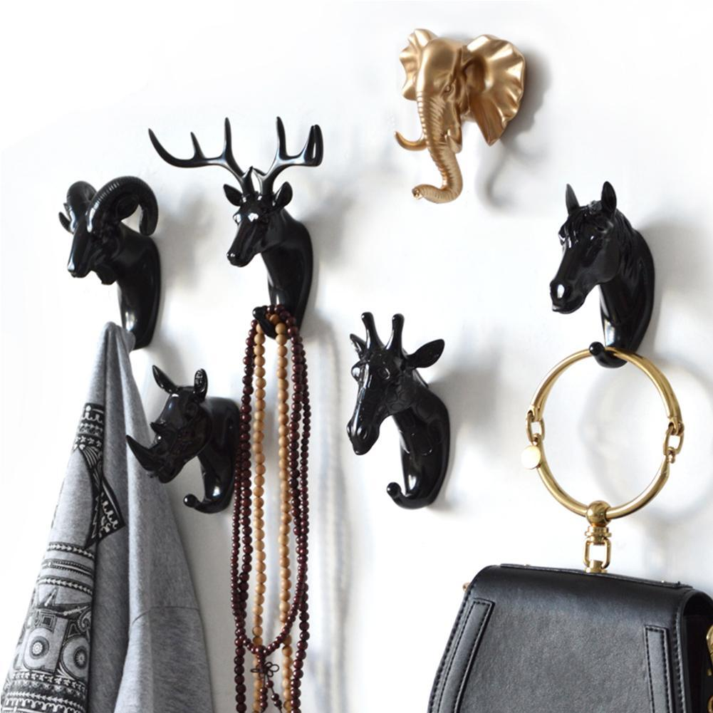 Creative 3D Wall Hangers Decoration Animals Hooks-Online Best Deals-Online Best Deals