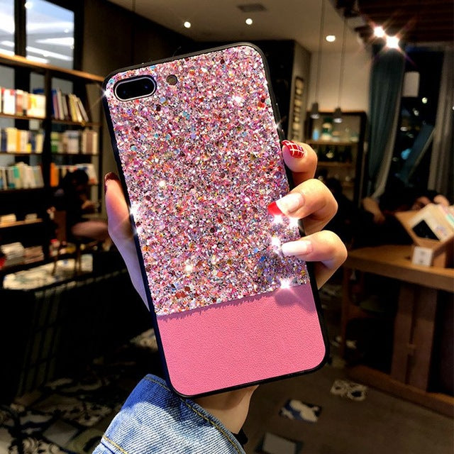 Luxury Bling Case For iphone-Online Best Deals-Pink-for iphone 6 6s-Online Best Deals