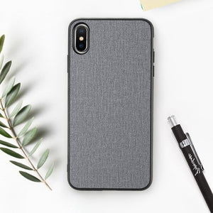 Cloth Texture Phone Case For iPhone-Online Best Deals-Gray-For iPhone 6 6s-Online Best Deals