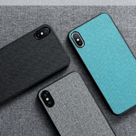 Cloth Texture Phone Case For iPhone-Online Best Deals-Online Best Deals