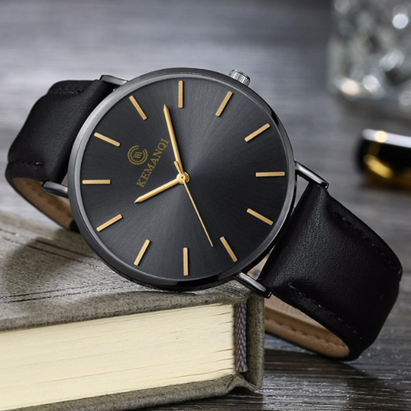 Ultra-thin Wrist Watch for Men-Online Best Deals