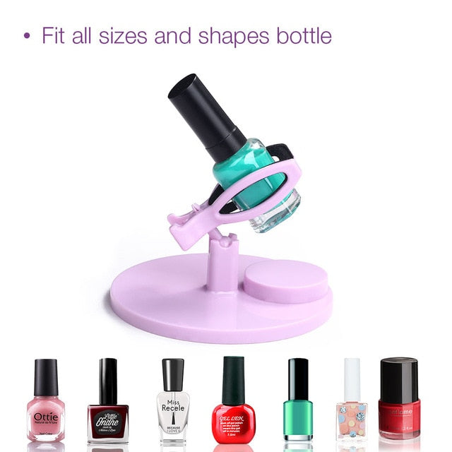 Hand Free Nail Polish Gel Bottle Holder-Online Best Deals