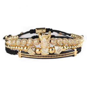 Royal Crown Bracelet Set-Online Best Deals
