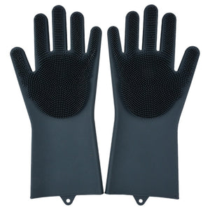 Magic Dishwashing Gloves-Home & Kitchen-Online Best Deals-Black-A Pair-Online Best Deals