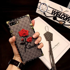 3D rose phone case for Samsung Galaxy-Online Best Deals-Gray-For Galaxy Note 8-only Case-Online Best Deals