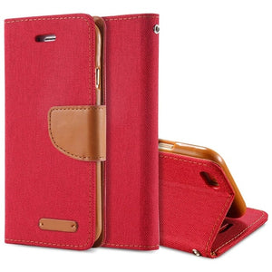Luxury Leather Wallet Flip Case For iPhone-Online Best Deals-Red-For iPhone 6 6S-Online Best Deals