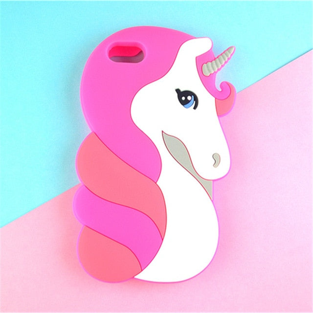 3D Cartoon Soft Silicone Phone Case For iPhone 5S 6 6S 7 8 Plus X-Online Best Deals-18-For iPhone X-Online Best Deals