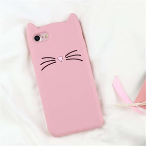 3D Cartoon Soft Silicone Phone Case For iPhone 5S 6 6S 7 8 Plus X-Online Best Deals-29-For iPhone X-Online Best Deals