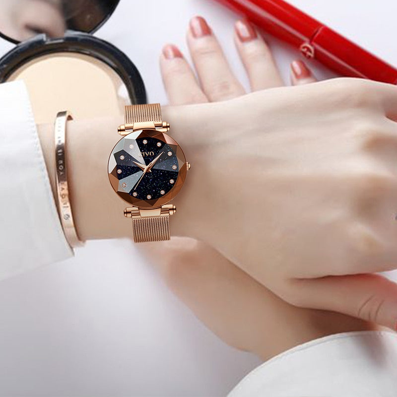 Luxury Crystal Watch for Women-Online Best Deals