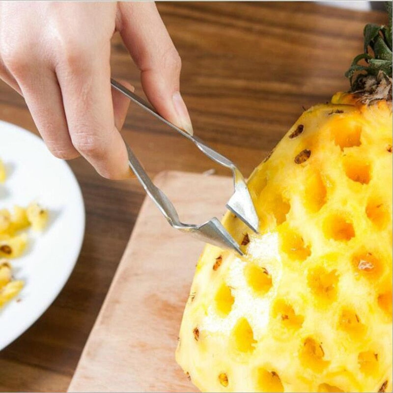 Stainless Steel Pineapple Peeler Clip-Online Best Deals