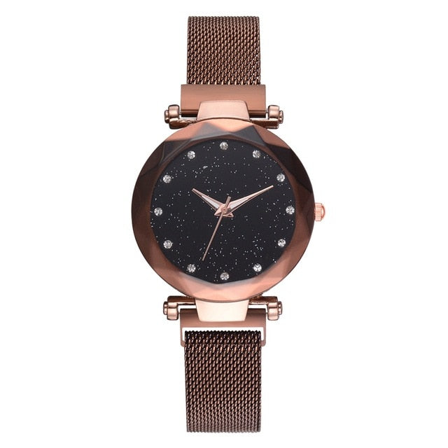 Luxury Magnet Buckle Watch For Women-Online Best Deals