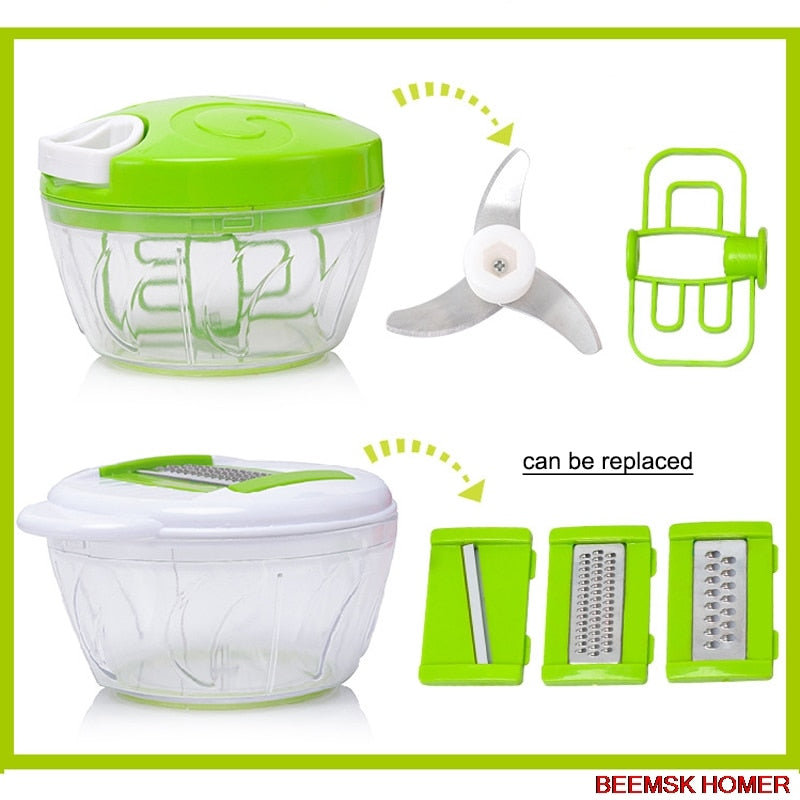 Manual Instant Easy Food Chopper-Online Best Deals