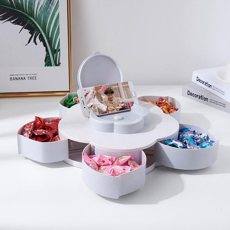 Multi-functional Organizer Rotatable Candy Storage Box-Online Best Deals
