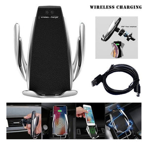 Automatic Clamping Car Phone Wireless Charging-Online Best Deals