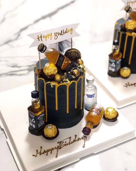 Custom Three-Tier (10+7+5 inches) Black Label