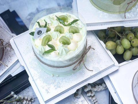 Vanilla Grape Chiffon Cake
