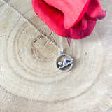 925 Sterling Silver Swimmer Necklace