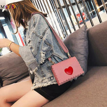Load image into Gallery viewer, Love Heart Cross body Bag