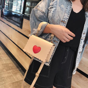 Love Heart Cross body Bag