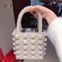 Load image into Gallery viewer, Delilah: Pearl Tote Bag