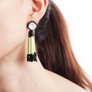 Long Drop Statement Earrings