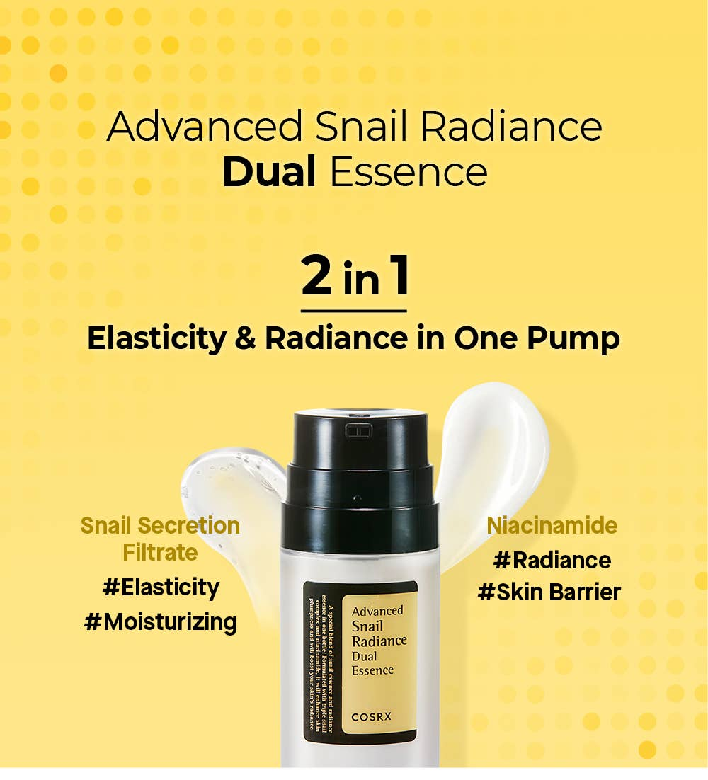 COSRX Advanced Snail Radiance Dual Essence