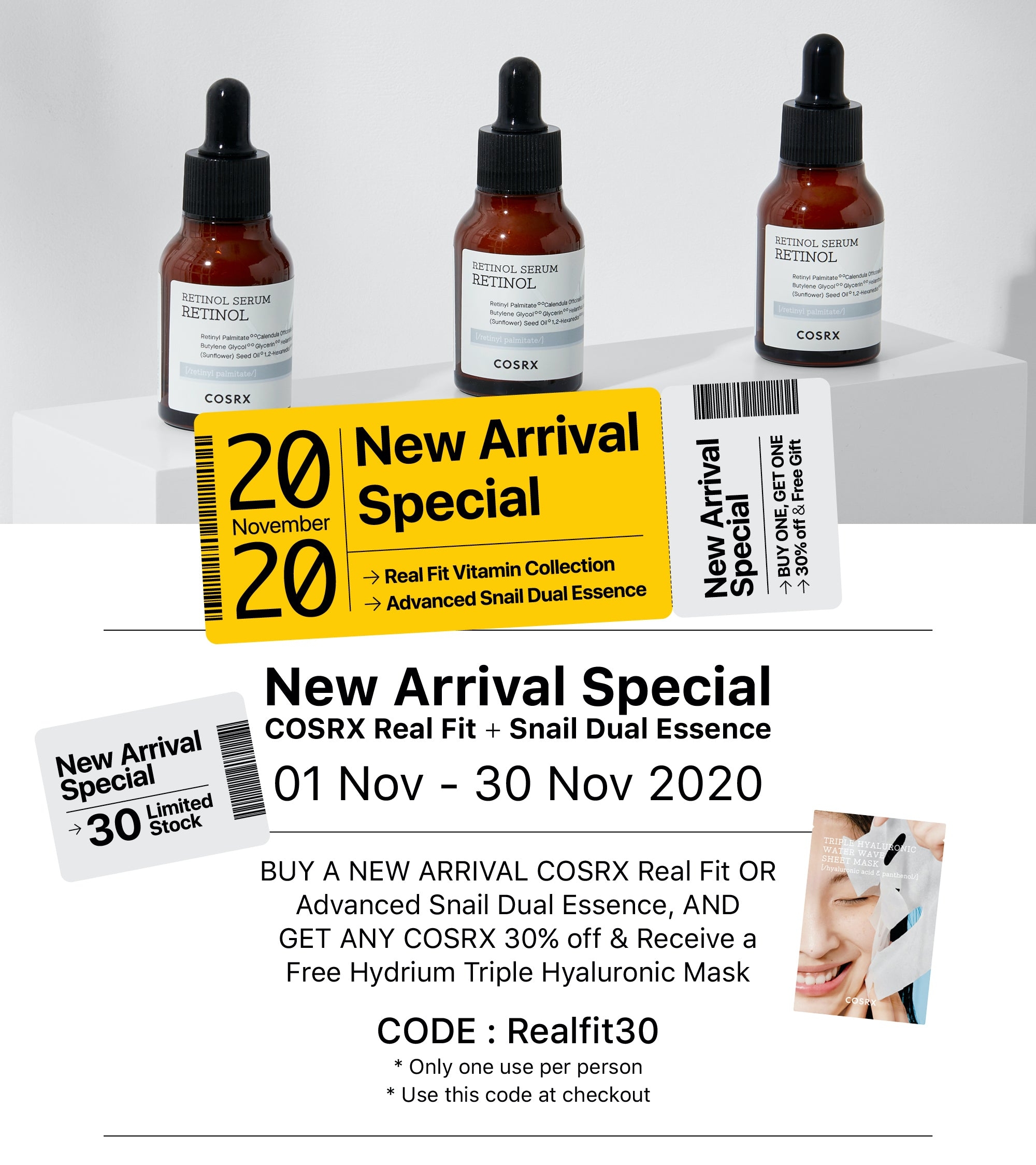COSRX Real Fit Special