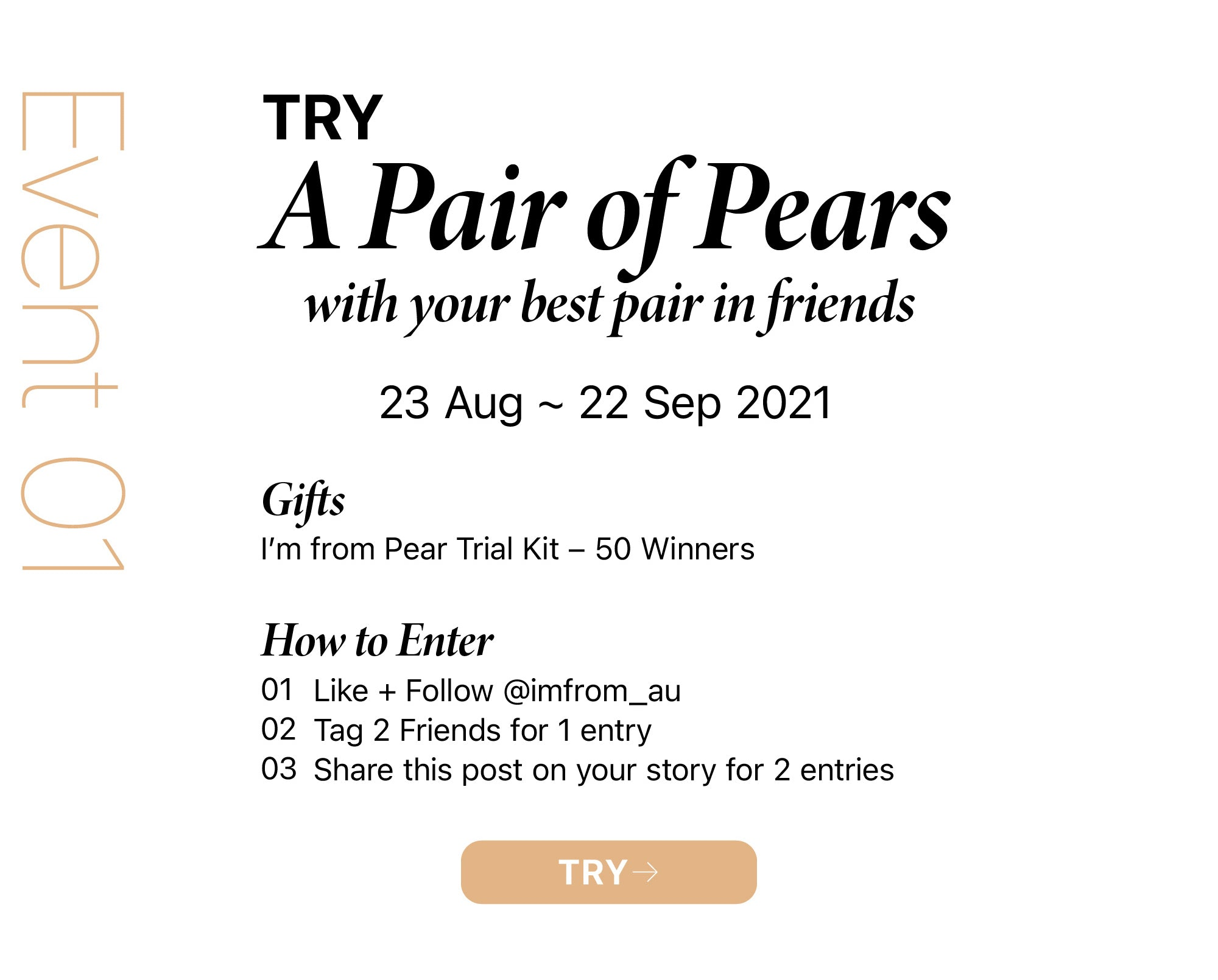 I'm from Pear Launching Event
