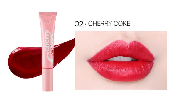 Coca-Cola Cotton Lip Tint - Cherry Coke