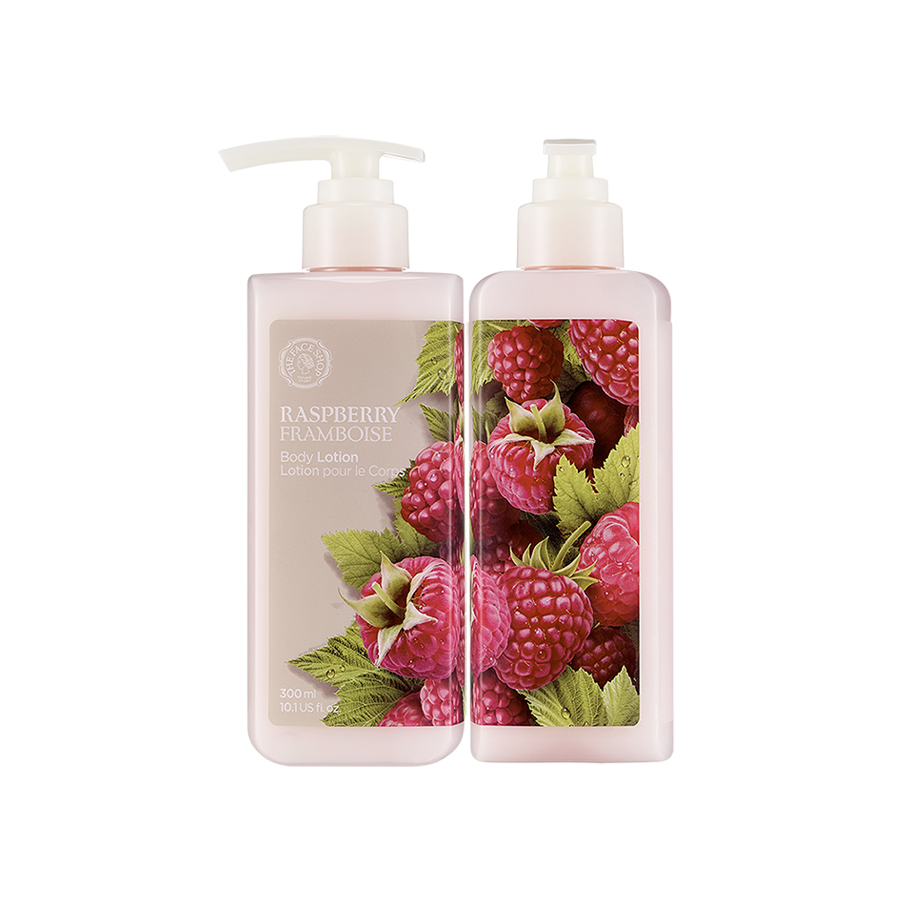 THEFACESHOP RASPBERRY BODY LOTION - THEFACESHOP Australia